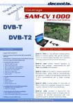 SAM-CV 1000 leaflet