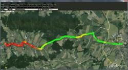 SAM-CV 1000 Map Display